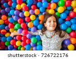 girl playing and having a good... | Shutterstock . vector #726722176