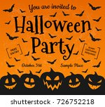 Halloween Party   Concept Of...