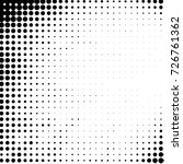abstract grunge grid polka dot... | Shutterstock . vector #726761362
