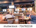 blurred people gathering and... | Shutterstock . vector #726782218