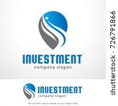 investment logo template design ... | Shutterstock .eps vector #726791866