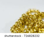 background of gold ornament... | Shutterstock . vector #726828232
