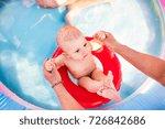 Little Baby Boy In The Swimmin...