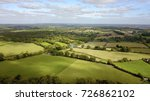 aerial photo over countryside... | Shutterstock . vector #726862102