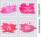 breast cancer awareness... | Shutterstock .eps vector #726862495