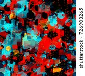 geometric seamless texture from ... | Shutterstock .eps vector #726903265
