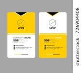 name card | Shutterstock .eps vector #726904408