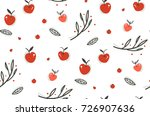 hand drawn vector abstract... | Shutterstock .eps vector #726907636