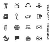 media vector icons for your... | Shutterstock .eps vector #726911956