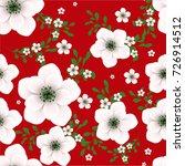 flower background | Shutterstock .eps vector #726914512