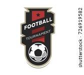 football tournament logo.   Shutterstock .eps vector #726919582