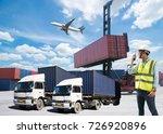 foreman control loading... | Shutterstock . vector #726920896