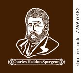 charles haddon spurgeon.... | Shutterstock .eps vector #726959482