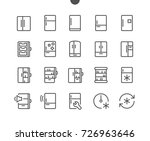 fridge ui pixel perfect well... | Shutterstock .eps vector #726963646