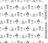 scandinavian simple seamless...   Shutterstock .eps vector #726967108