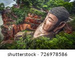view of the buddha statue in... | Shutterstock . vector #726978586