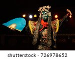 chinese opera actor performs... | Shutterstock . vector #726978652