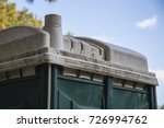 close up top roof of portable... | Shutterstock . vector #726994762