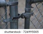 Chain Link Fence Gate Door...