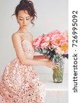 home stylish fashion photo of... | Shutterstock . vector #726995092