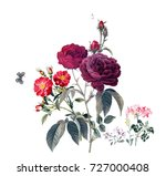 Stock photo butterfly love of flowers the leaves and flowers art design 727000408