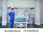 medical personnel at the... | Shutterstock . vector #727045825