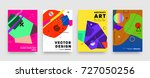 covers templates set with... | Shutterstock .eps vector #727050256