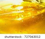 natural bee honey. | Shutterstock . vector #727063012