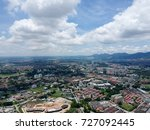 aerial photo   bird's eye view... | Shutterstock . vector #727092445