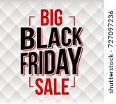 abstract vector black friday... | Shutterstock .eps vector #727097236
