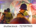 police officers provide... | Shutterstock . vector #727097905