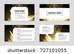 abstract vector layout... | Shutterstock .eps vector #727101055