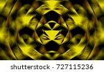 3d geometry background. magic... | Shutterstock . vector #727115236