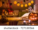 interior of a children's... | Shutterstock . vector #727130566