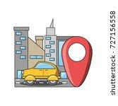 travel and navigation design | Shutterstock .eps vector #727156558