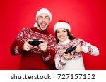 december noel  funky  happiness ... | Shutterstock . vector #727157152