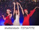 group of young asian women... | Shutterstock . vector #727167772