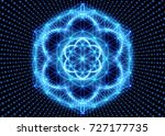sacred geometry  abstract...