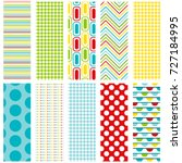 colorful background patterns... | Shutterstock .eps vector #727184995