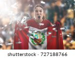 Peruvian Female Fan Holding Th...