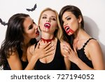 anger  rage  death  hunger and... | Shutterstock . vector #727194052