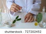 scientist  making  serum... | Shutterstock . vector #727202452