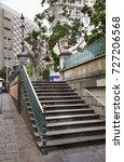 stairs in santa cruz de... | Shutterstock . vector #727206568