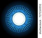 technology cyber abstract...   Shutterstock .eps vector #727210552