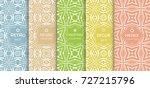 seamless line pattern... | Shutterstock .eps vector #727215796