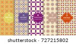 seamless line pattern... | Shutterstock .eps vector #727215802