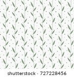 vector illustration of leaves... | Shutterstock .eps vector #727228456