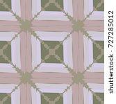 seamless checkered pattern.... | Shutterstock .eps vector #727285012