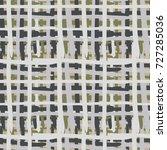 seamless checkered pattern.... | Shutterstock .eps vector #727285036