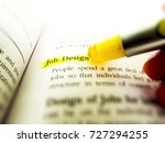 job design highlighted with... | Shutterstock . vector #727294255